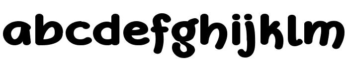 DeFonarts Bold Font LOWERCASE