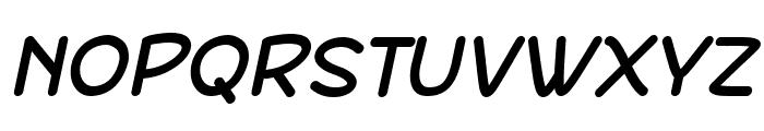 DeFonarts Italic Font UPPERCASE