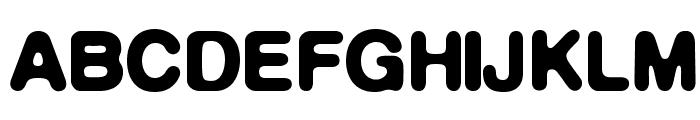 DeFonte-DemiGrasreduit Font UPPERCASE
