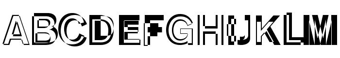DeKunst-Initialen Font LOWERCASE