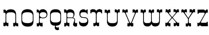 DeLouisville Font LOWERCASE