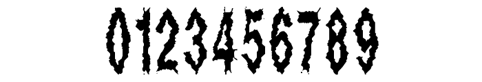 Dead Alive Font OTHER CHARS
