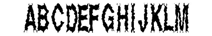 Dead Alive Font LOWERCASE