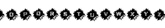 Dead CircuitRegular Font UPPERCASE