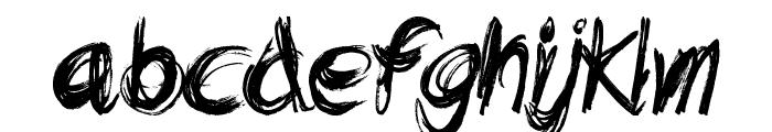 Dead End Font LOWERCASE