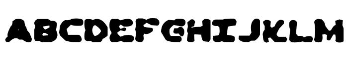 Dead Ewoks Everywhere Font UPPERCASE