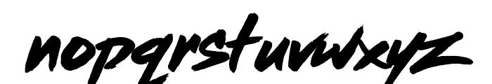 Dead Stock Font LOWERCASE