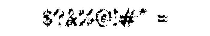 DeadGrit Font OTHER CHARS