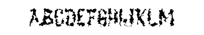 DeadGrit Font UPPERCASE