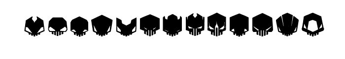 DeadHead Font LOWERCASE