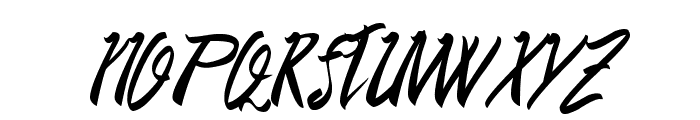 DeadTasty Font UPPERCASE