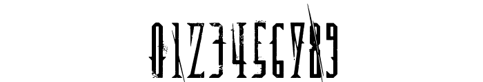 Deadly Black Chain Font OTHER CHARS