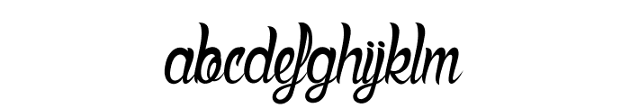 Deadly Inked Font LOWERCASE