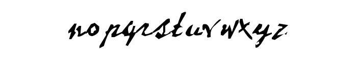 Dear Theo Font LOWERCASE