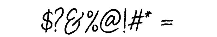 DearDisya-Standard Font OTHER CHARS