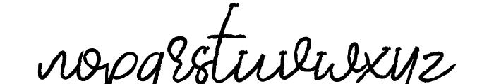DearDisya-Standard Font LOWERCASE