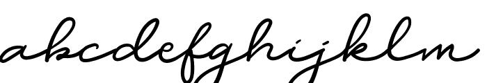 DearJane Font LOWERCASE