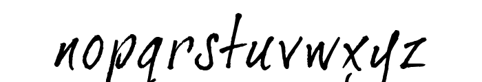 DearJoe2 Font LOWERCASE