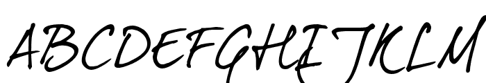 DearJoe5CASUAL Font UPPERCASE