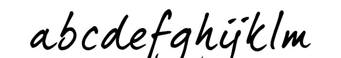 DearJoe5CASUAL Font LOWERCASE