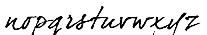 DearJoefour Font LOWERCASE