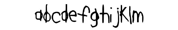 DearKatieNBP Font LOWERCASE