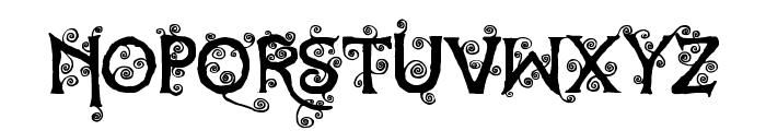 Dearest Dorothy Font UPPERCASE