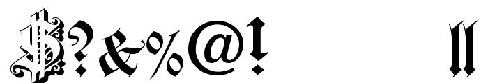 Dearest Open Font OTHER CHARS