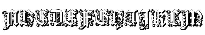 Dearest Open Font UPPERCASE