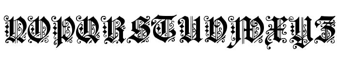 Dearest Font UPPERCASE