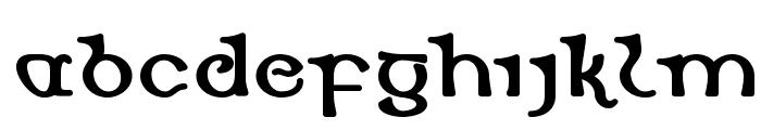 Dearmach Font LOWERCASE