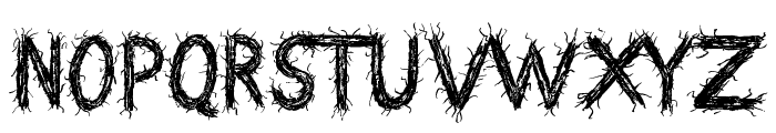 Death Branch Font LOWERCASE