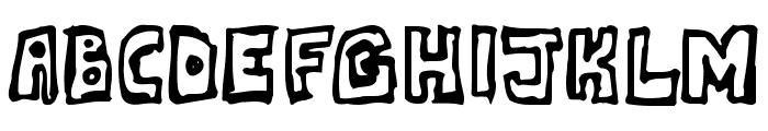 DeathPhont Font UPPERCASE