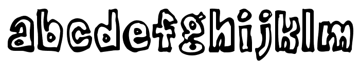 DeathPhont Font LOWERCASE