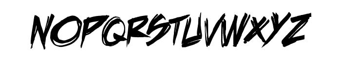 DeathRattle BB Font UPPERCASE