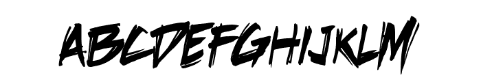 DeathRattle BB Font LOWERCASE