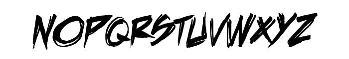 DeathRattleBB Font UPPERCASE