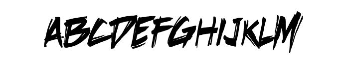 DeathRattleBB Font LOWERCASE