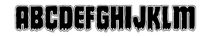 Deathblood Academy Font UPPERCASE