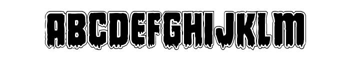 Deathblood Academy Font LOWERCASE