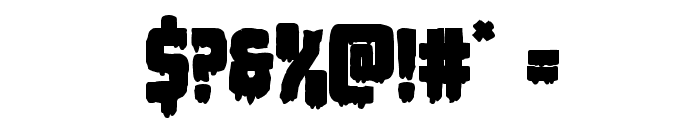 Deathblood Bold Font OTHER CHARS