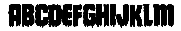 Deathblood Bold Font UPPERCASE