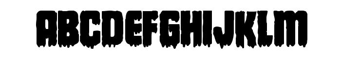 Deathblood Bold Font LOWERCASE