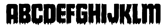 Deathblood Regular Font UPPERCASE