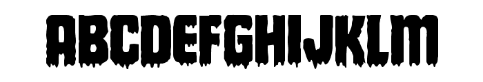 Deathblood Regular Font LOWERCASE