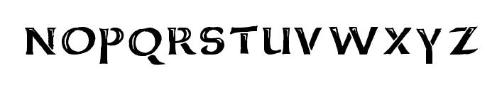 Deathhead KeltCaps Font LOWERCASE