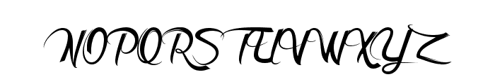 DeathintheShadow Font UPPERCASE