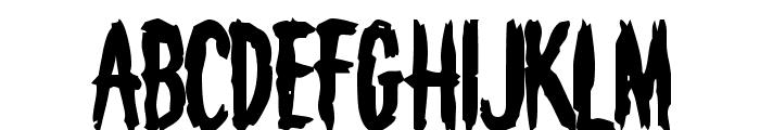 Deathknell Font UPPERCASE