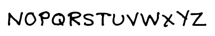 Debbie-Optional Font UPPERCASE