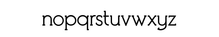 Debock Personal Use Regular Font LOWERCASE